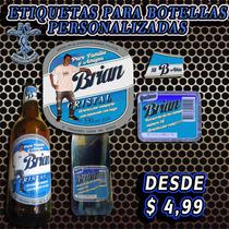 Etiquetas Para Bebidas Personalizadas Pyp