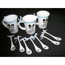 Cucharitas De Porcelana Pintadas A Mano