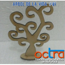 Arboles De La Vida 10 Cm Fibrofacil Souvenirs
