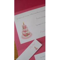 Invitaciones Cumpleaños/adultos Tarjetas Entrega En 3 Días!