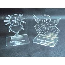 Souvenirs De Comunión O Confirmación En Acrílico X 6 Unid