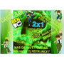 Kit Imprimible Candy Bar Ben 10! 2x1 Imperdible