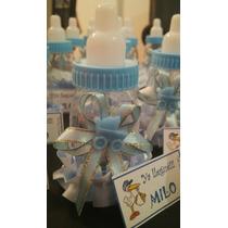 Souvenir Baby Shower Nacimiento 1º Año Mamaderas Decoradas