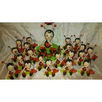 Souvenirs Vaquita De San Antonio En Porcelana Fria