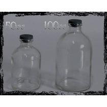 Botellitas Frasquitos De Vidrio (viales) De 50cc