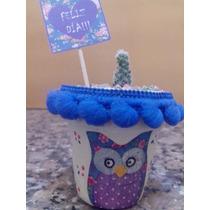Maceta Con Cactus Para Souvenirs!