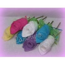 Souvenir Toallas Delicadas Rosas Ideal Cumpleaños