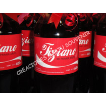 Botella Coca Cola Souvenir Cumpleaños Eventos