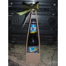 Cerveza Porron Quilmes 330cc + Cajita Souvenir Hombre!