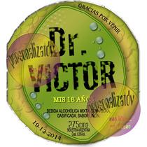Botellas Espumantes Personalizados!! Dr Lemon 15/18años
