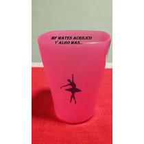 Vaso Plastico Cuadrado Personalizado Souvenirs Dia Maestro