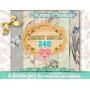 Kit Imprimible 6 Laminas Papel Digital Oriental Decoupage