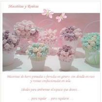 Souvenirs Macetitas Con Flores De Tela