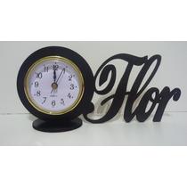 15 Souvenirs Reloj Inserto Nombre Terminado