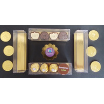 Caja Pvc (tipo Acetato ) Para Bombones Y Trufas - Pack 25u