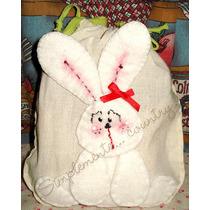 Muñecos Country - Bolsita Con Aplique De Conejo! Souvenirs