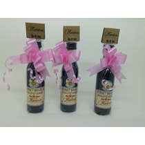 Souvenirs 20 Botella Mini Fernet Personalizada