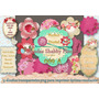 Kit Imprimible 9 Blondas Florales Scrapbook Decoupage Deco