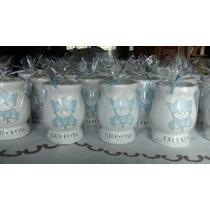 Souvenirs De Mates De Ceramica Con Bombillas