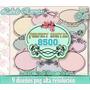 Kit Imprimible Etiquetas Vintage Decoupage Sublimaciòn Candy