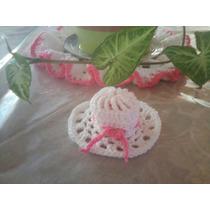 Souvenirs Capelina Crochet 15 Años, 50 Años, Etc.