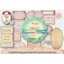 15 Labels Vintage Etiqueta Frascos Cajas Tarjetita Candybar