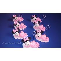 Souvenirs Minnie Bebe 10 Unidades $220