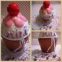 Dijes Mini Cupcakes Ideal Cumpleaños 15 Y Casamientos