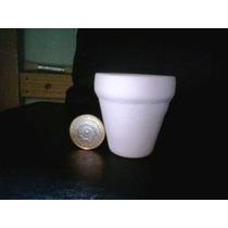 Macetas De Ceramica Blanca Med.5.5x5 Direc Fabric