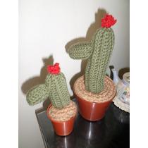 15 Cactus Hilo P/souvenir 15 Cm+1 Grande, Oferta.amigurumis