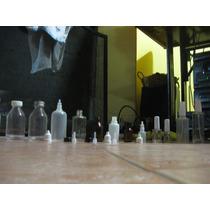 Lote De Frascos Pequeños Vidrio Y Plastico