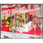 Fanal Vela Centro De Mesa 15x15.boda,15 Años,eventos