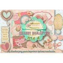 13 Png Romanticas Amor Shabby Chic Scrapbook Decoupage 15 Y+