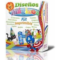 Mega Kit Imprimible Vectores, Imagenes, Juegos, Moldes