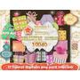 Kit Imprimible 17 Tags Regalitos Navidad Tarjetas Etiquetas