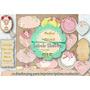 12 Etiquetas Tarjetitas 15 Años Cumpleaños Candybar Shabby
