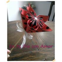 Souvenirs Flores Origami! Ideal Cumpleaños 15 Años Etc