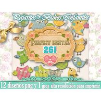 12 Png Pajaritos Buhos Dormitorios Infantiles Bebes Candybar