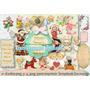 Kit Imprimible 25 Imagen Nenes Niños Tiernos Angelitos Shaby