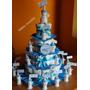 Torta De Pañales Y Souveniers Baby Shower