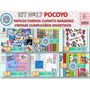 1 Kit Imprimible X 6 Sets Pocoyo Clipart Fondos P/candybar