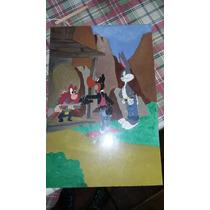 Pintura Hecha Con Acrílico Sobre Madera