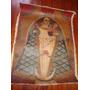 Antigua Pintura Religiosa Virgen Con Niño Dios. Santos