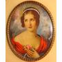 Bella Pintura Miniatura / Calidad / A Mano / Firmada # 1291