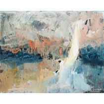 Pintura Enrique Llorens Turner Hace Sun Gazing Atardecer