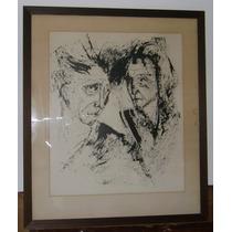 Cuadro Tinta Original Firmada 1967