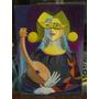 Arte Pintura Sobre Chapadur 50cm X 70cm,firmado,acrilico