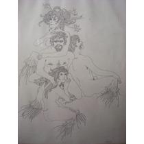 Tinta Original De Alberto Lutz, Fechado 1970