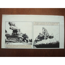 Ilustración Original Tinta Historieta