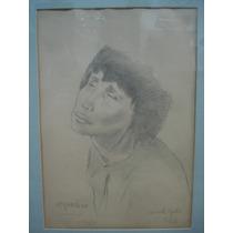 Cuadro Dibujo Original Mariette Lydis (70)